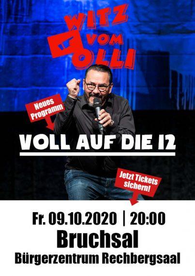 Witz vom Olli Veranstaltung Bruchsal 2020