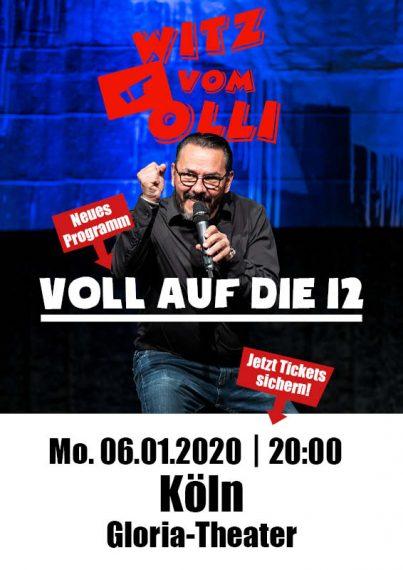 Witz vom Olli Veranstaltung Köln 2020