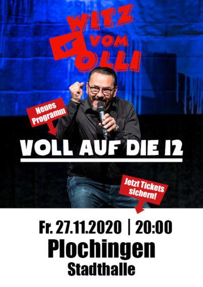Witz vom Olli Plakat Plochingen 2020