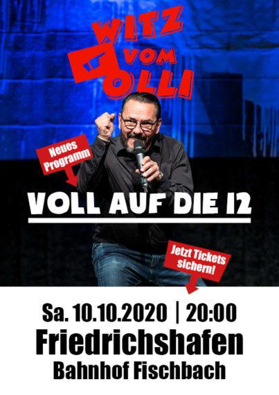 Plakat Witz vom Olli Friedrichshafen
