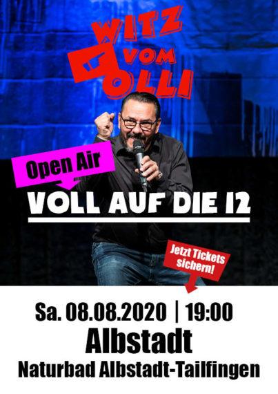 Witz vom Olli Albstadt Tourplakat