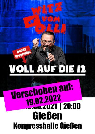 Plakat Witz vom Olli Gießen 2022