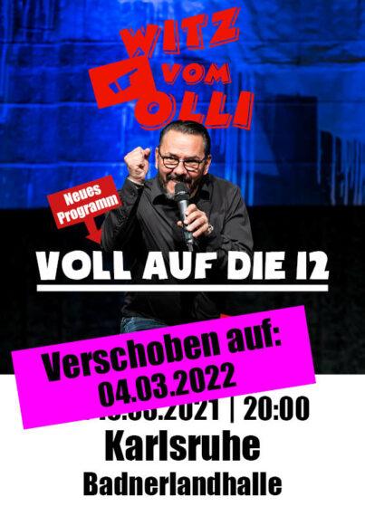 Plakat Witz vom Olli Karlsruhe 2022