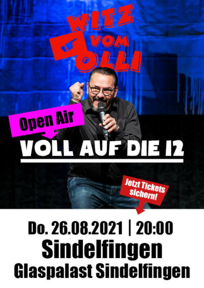 Witz vom Olli Glaspalast Sindelfingen 2021